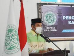 Hadiri Pelantikan Pengurus DPD BKPRMI Sinjai, Ini Harapan Ilham Abubakar