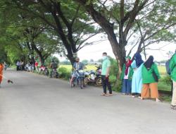 KKN- DK Angkatan 65 UINAM Bersama Karang Taruna Tetebatu Lakukan Baksos