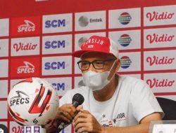 Pelatih Persija Waspadai Fanatisme dan Daya Juang Pemain PSM