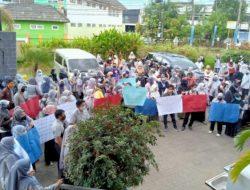 Ratusan Guru Kontrak di Makassar Demo Tuntut Gaji yang Tertunggak, Dijanji yang Kedua Kali