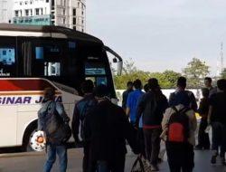 Bus Khusus Bawa Penumpang saat Pelarangan Mudik Bakal Dipasang Stiker