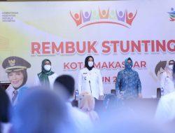 Wakil Walikota Tandatangani Komitmen Bersama  Percepat Penanganan Stunting di Kota Makassar