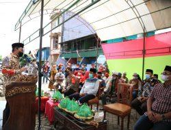 Walikota Danny Letakkan Batu Pertama Pembangunan Masjid Babu Taubah