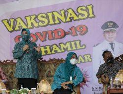 Ketua TP PKK Makassar, Launching Vaksinasi Covid19 bagi Ibu Hamil