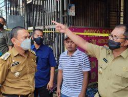 Kunjungi Kebakaran Depan GOR Sudiang,Danny: Waspada Instalasi Listrik Yang Rentan