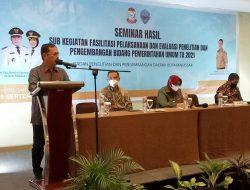Seminar Hasil Naskah Akademik dan Norma Perseroda, Sekda Kota Makassar Apresiasi Kinerja Balitbangda