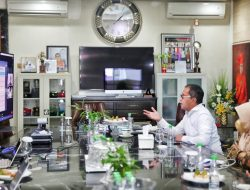 Didaulat Jadi Narasumber Oleh TII, Danny Bahas Strategi Makassar Lawan Covid 19