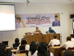 Ceramah Latsar Angkatan LVI dan LVII, Sekda Kota Makassar Berbagi Motivasi