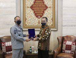 Temui Wali kota Danny, Bakamla RI Bahas Penempatan Kantor SPD DI Makassar